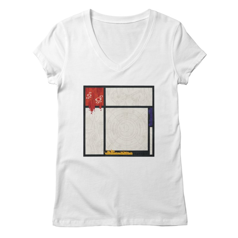 Tribute Women's V-Neck by againstbound's Artist Shop