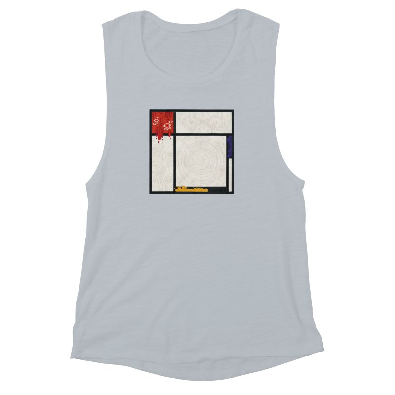 Tribute Women's Muscle Tank by againstbound's Artist Shop