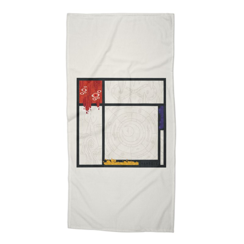 Tribute Accessories Beach Towel by againstbound's Artist Shop