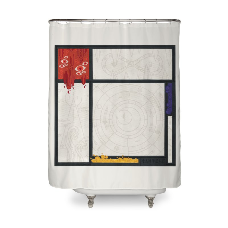 Tribute Home Shower Curtain by againstbound's Artist Shop