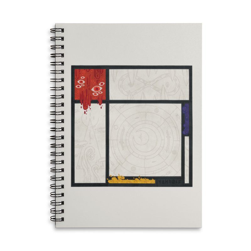 Tribute Accessories Lined Spiral Notebook by againstbound's Artist Shop
