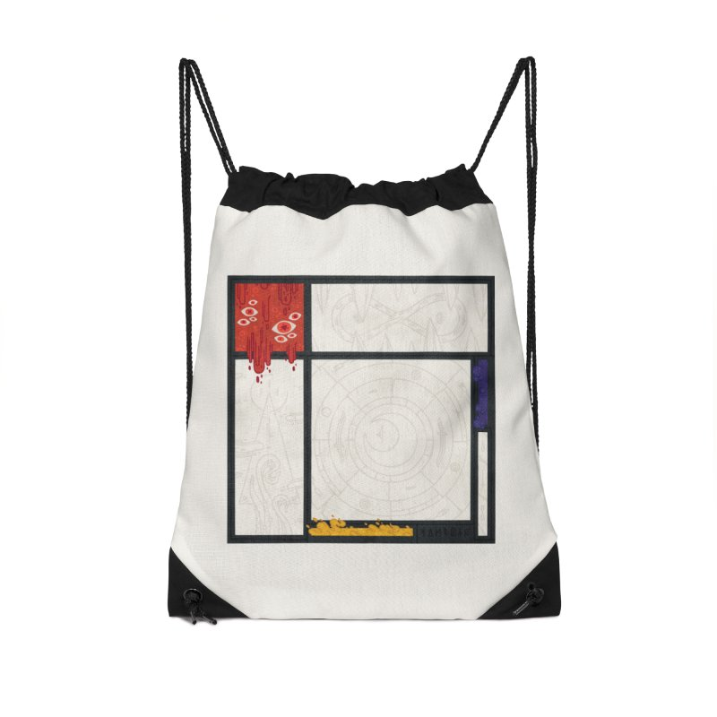 Tribute Accessories Drawstring Bag Bag by againstbound's Artist Shop