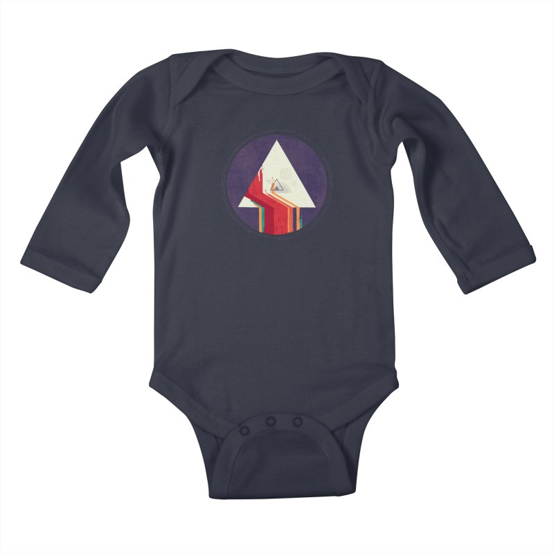Portal Study Kids Baby Longsleeve Bodysuit by againstbound's Artist Shop