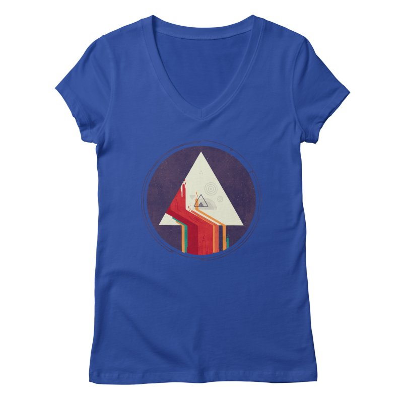 Portal Study Women's V-Neck by againstbound's Artist Shop