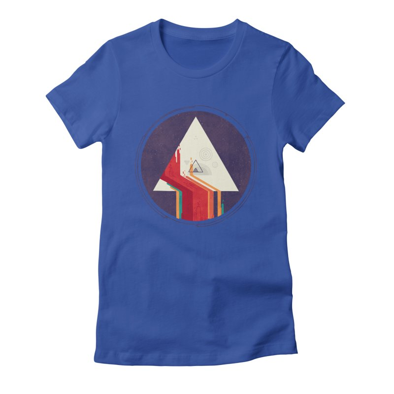 Portal Study Women's Fitted T-Shirt by againstbound's Artist Shop
