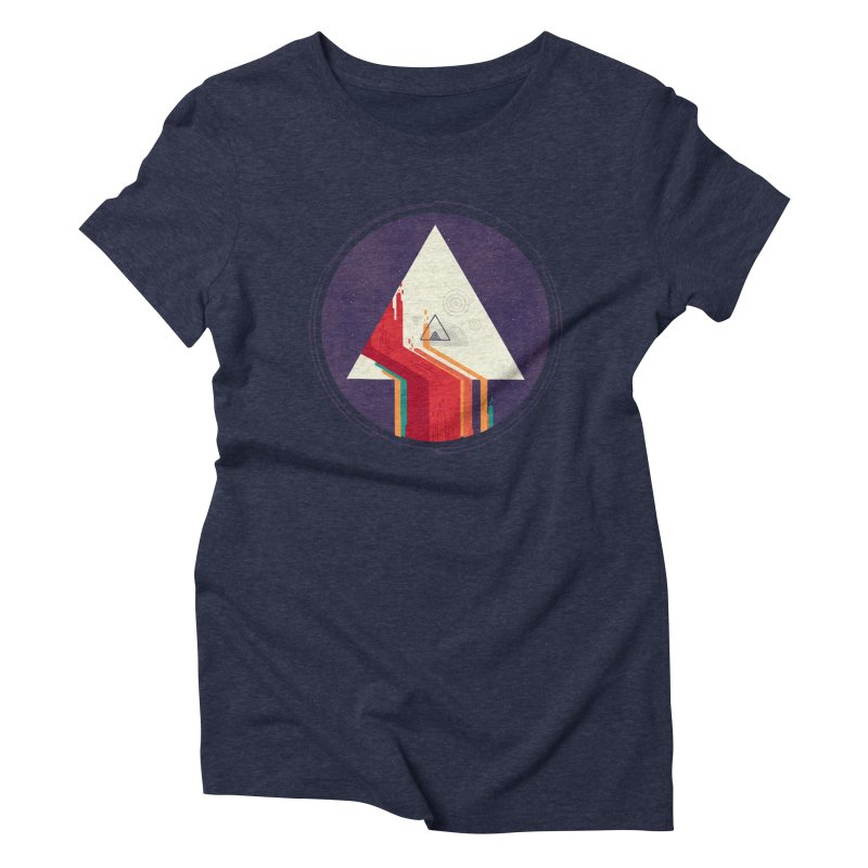 Portal Study Women's Triblend T-Shirt by againstbound's Artist Shop