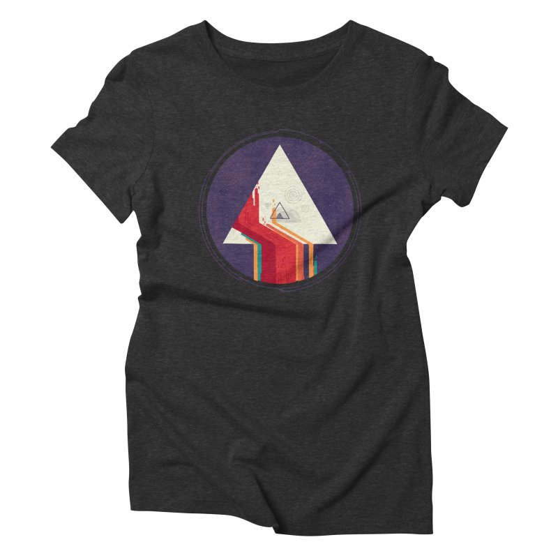 Portal Study Women's Triblend T-Shirt by againstbound's Artist Shop