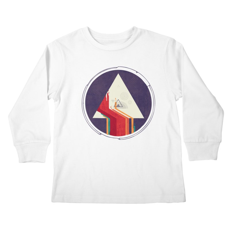 Portal Study Kids Longsleeve T-Shirt by againstbound's Artist Shop