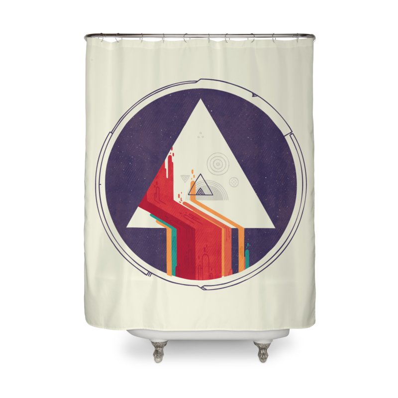Portal Study Home Shower Curtain by againstbound's Artist Shop