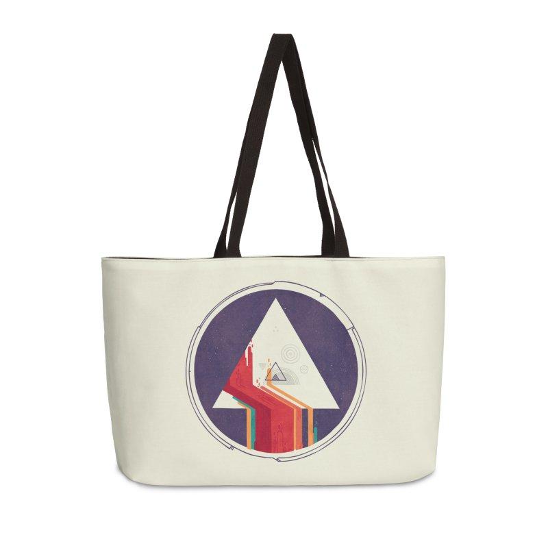 Portal Study Accessories Weekender Bag Bag by againstbound's Artist Shop