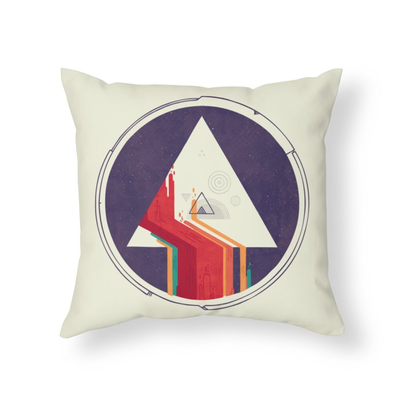 Portal Study Home Throw Pillow by againstbound's Artist Shop