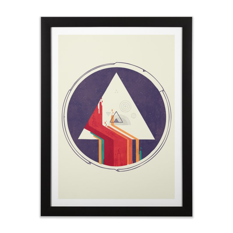Portal Study Home Framed Fine Art Print by againstbound's Artist Shop