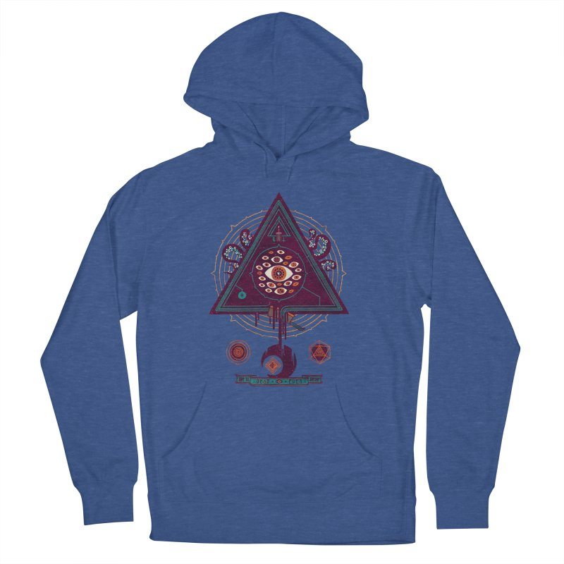 All Seeing Men's French Terry Pullover Hoody by againstbound's Artist Shop