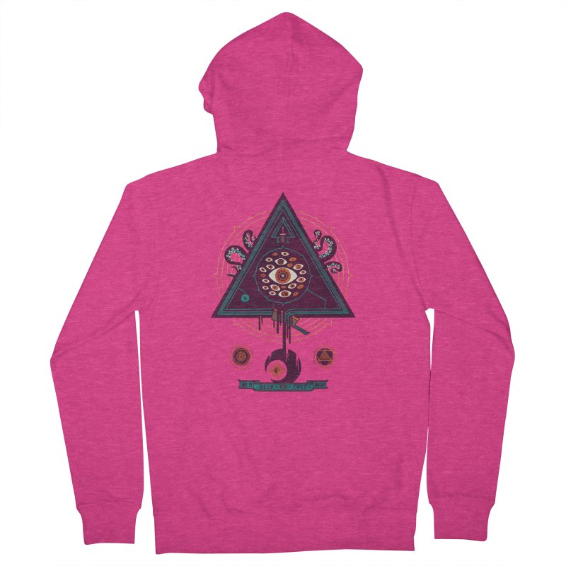 All Seeing Women's Zip-Up Hoody by againstbound's Artist Shop