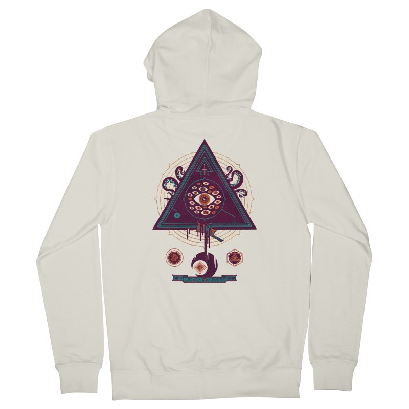 All Seeing Women's French Terry Zip-Up Hoody by againstbound's Artist Shop