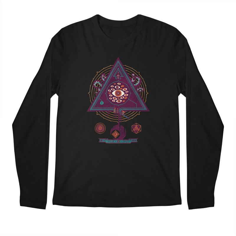 All Seeing Men's Longsleeve T-Shirt by againstbound's Artist Shop