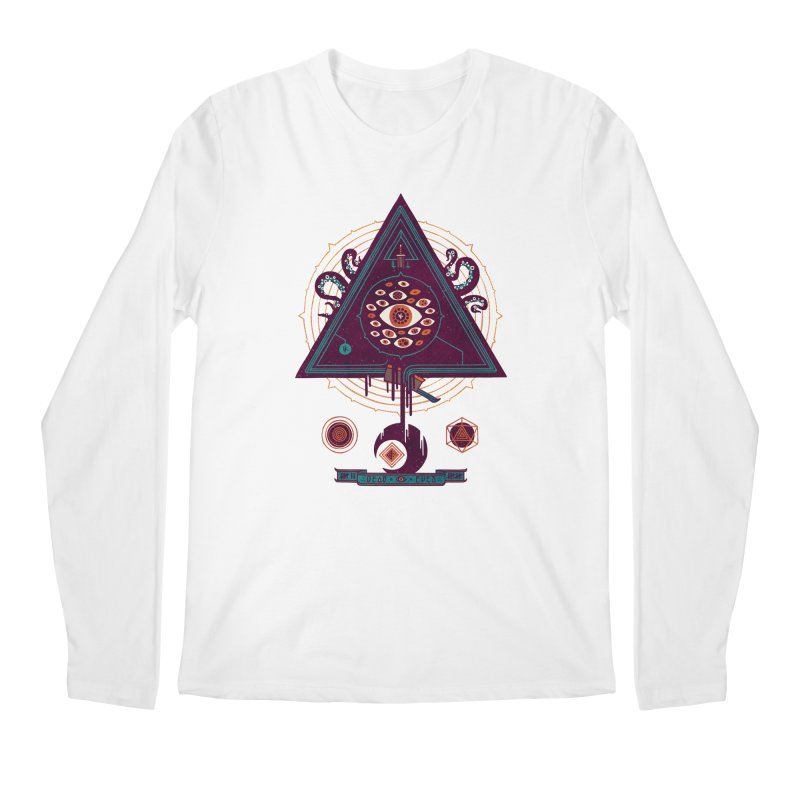 All Seeing Men's Regular Longsleeve T-Shirt by againstbound's Artist Shop