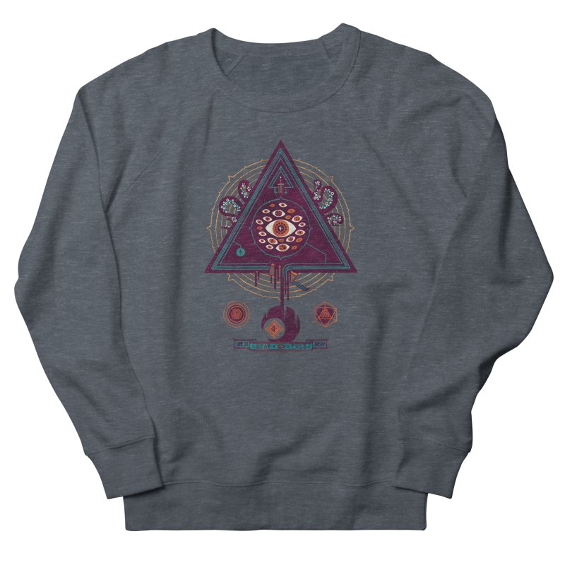 All Seeing Women's French Terry Sweatshirt by againstbound's Artist Shop