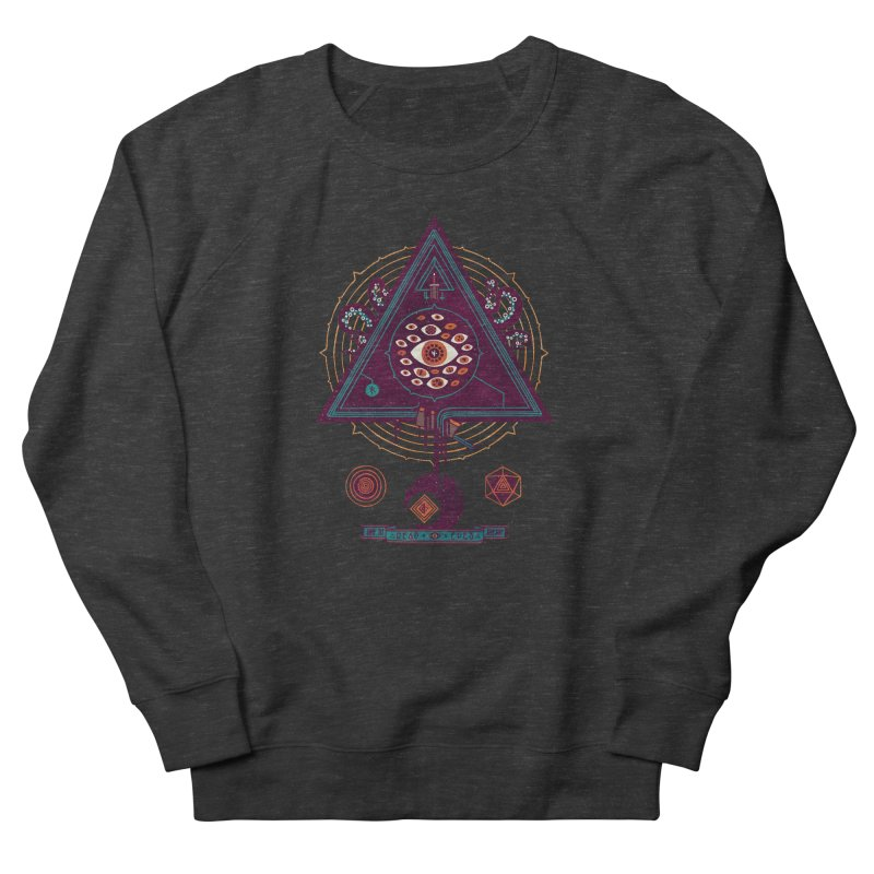 All Seeing Men's Sweatshirt by againstbound's Artist Shop