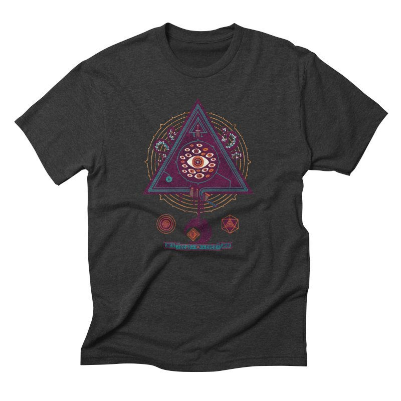All Seeing Men's Triblend T-shirt by againstbound's Artist Shop