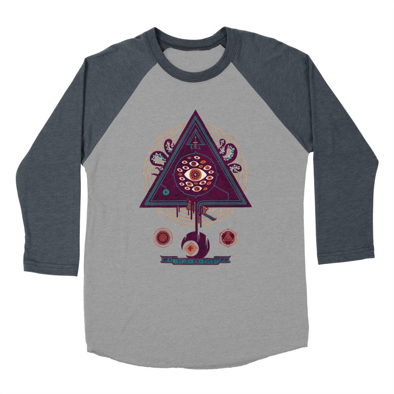 All Seeing Women's Baseball Triblend T-Shirt by againstbound's Artist Shop