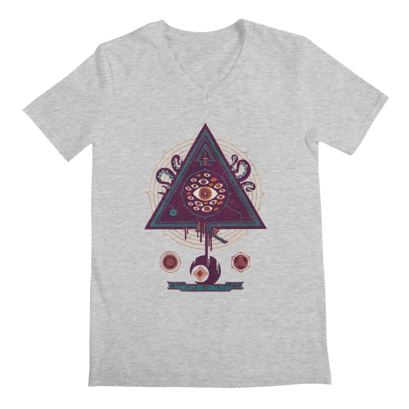 All Seeing Men's V-Neck by againstbound's Artist Shop