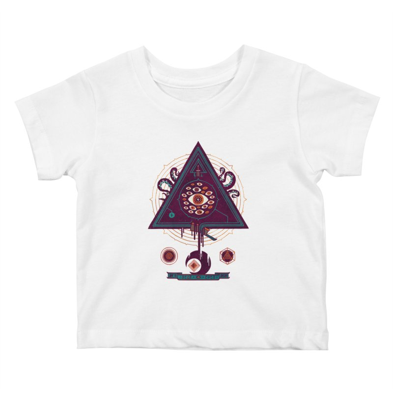 All Seeing Kids Baby T-Shirt by againstbound's Artist Shop