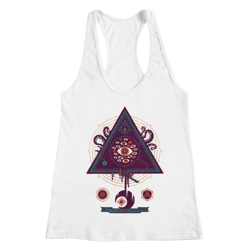 All Seeing Women's Racerback Tank by againstbound's Artist Shop