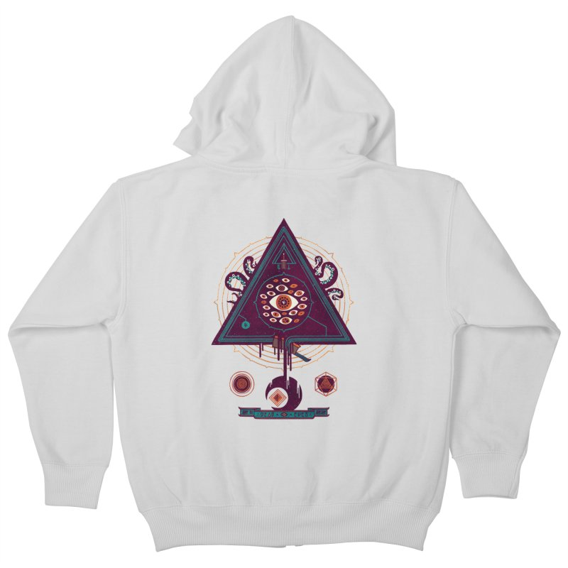 All Seeing Kids Zip-Up Hoody by againstbound's Artist Shop