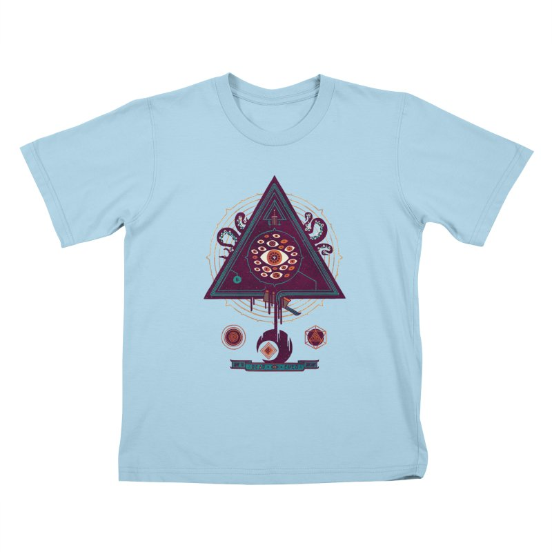 All Seeing Kids T-Shirt by againstbound's Artist Shop