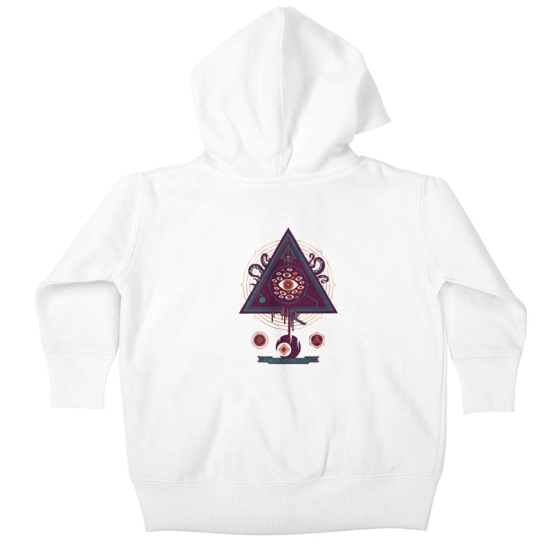 All Seeing Kids Baby Zip-Up Hoody by againstbound's Artist Shop