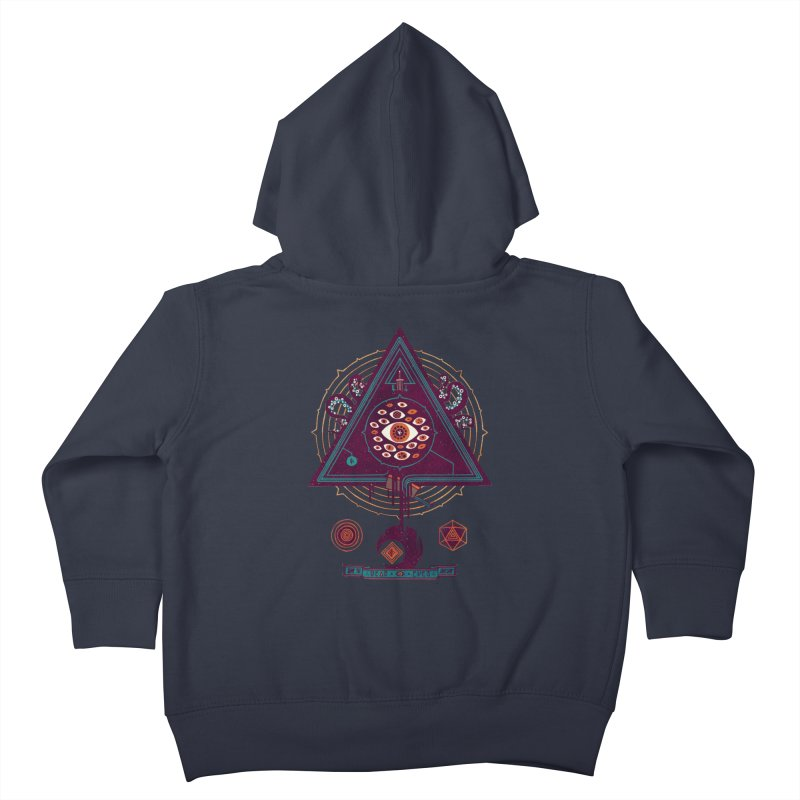 All Seeing Kids Toddler Zip-Up Hoody by againstbound's Artist Shop