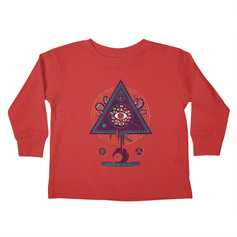 All Seeing Kids Toddler Longsleeve T-Shirt by againstbound's Artist Shop