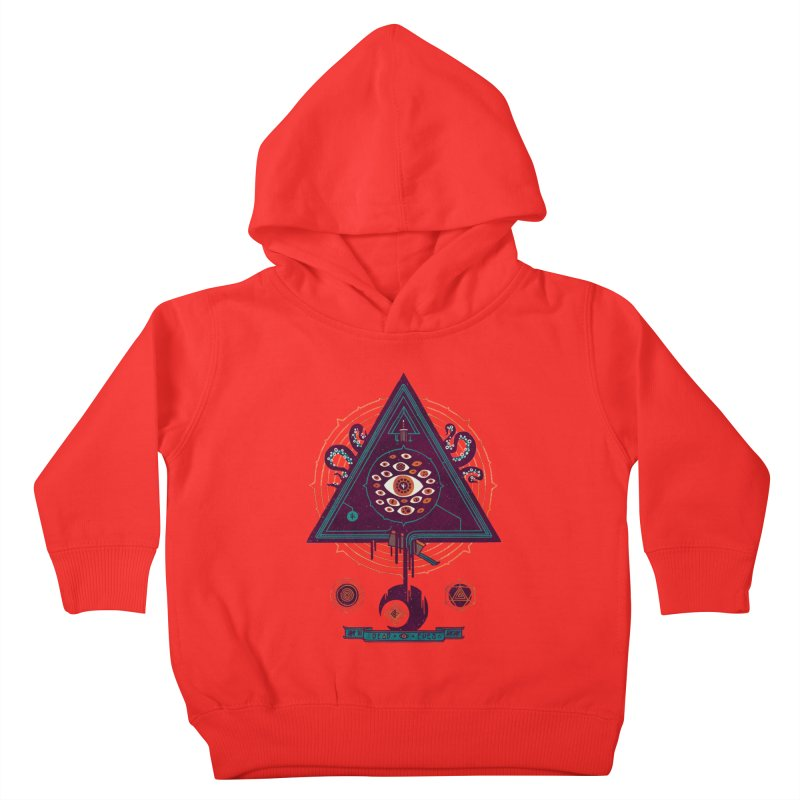 All Seeing Kids Toddler Pullover Hoody by againstbound's Artist Shop