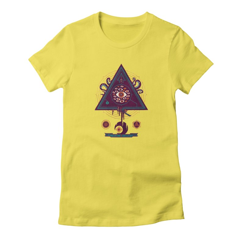 All Seeing Women's T-Shirt by againstbound's Artist Shop