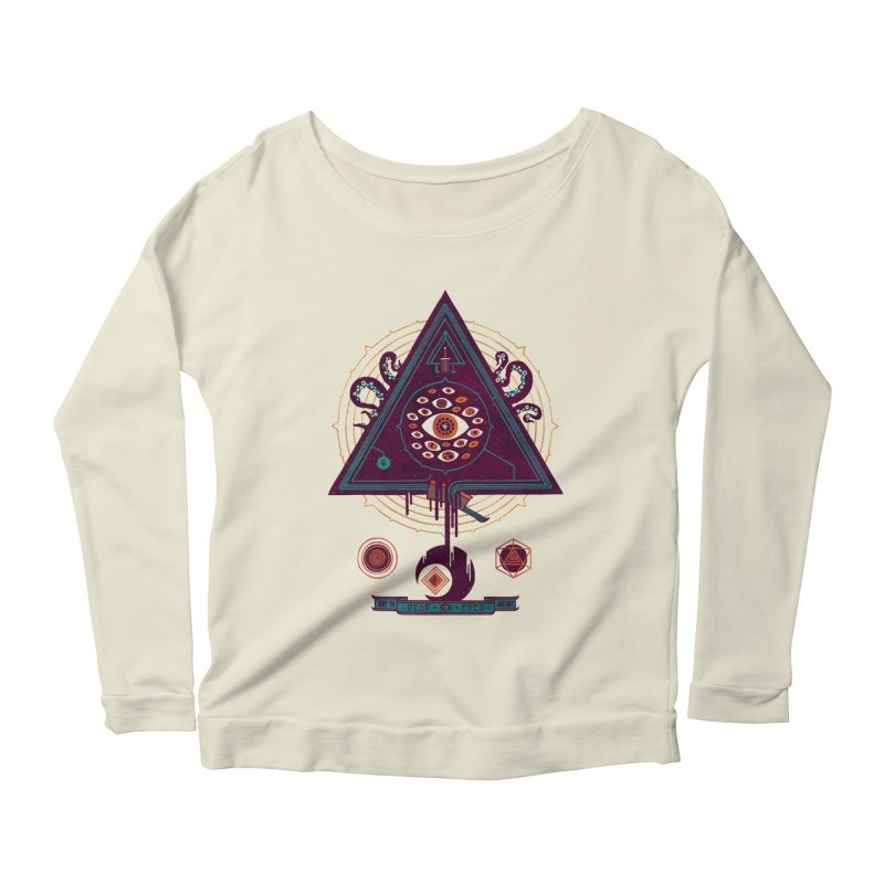 All Seeing Women's Scoop Neck Longsleeve T-Shirt by againstbound's Artist Shop