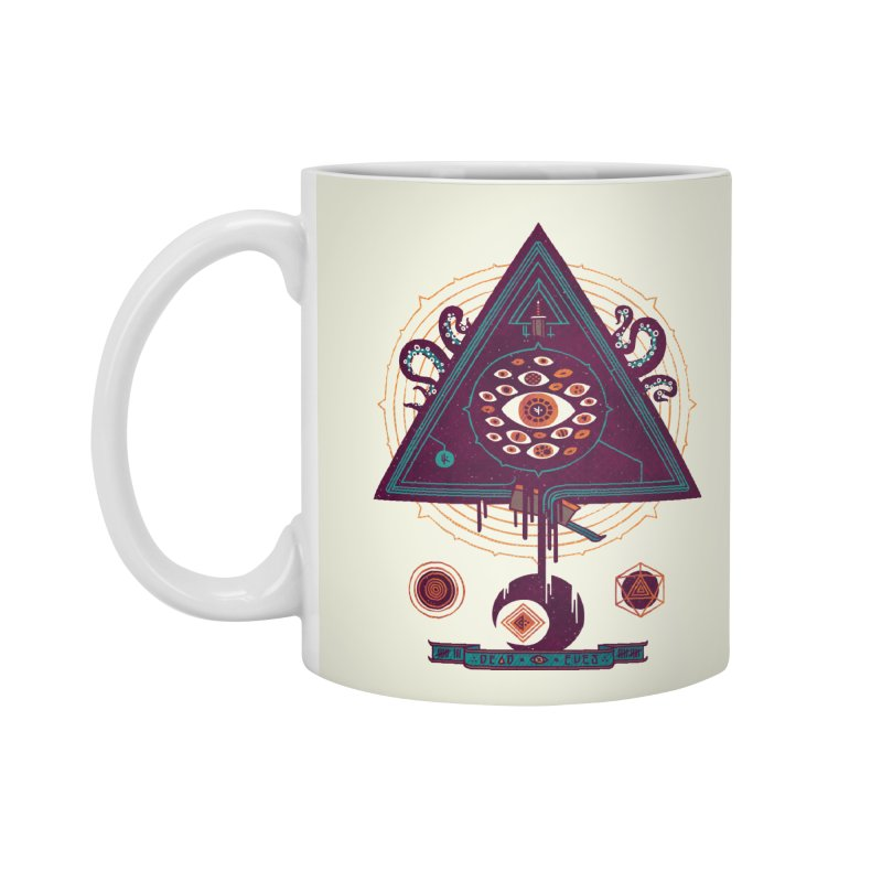 All Seeing Accessories Mug by againstbound's Artist Shop