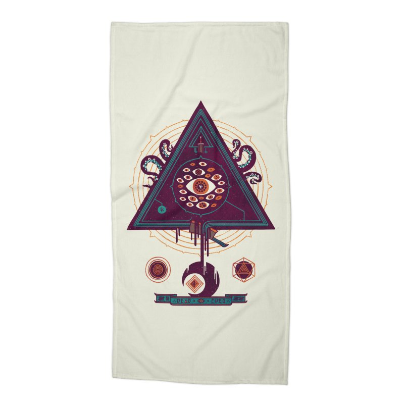 All Seeing Accessories Beach Towel by againstbound's Artist Shop
