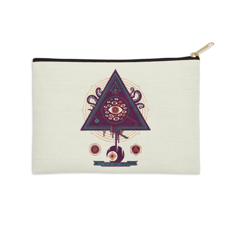 All Seeing Accessories Zip Pouch by againstbound's Artist Shop