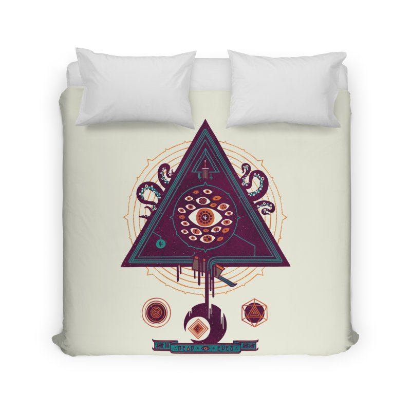 All Seeing Home Duvet by againstbound's Artist Shop
