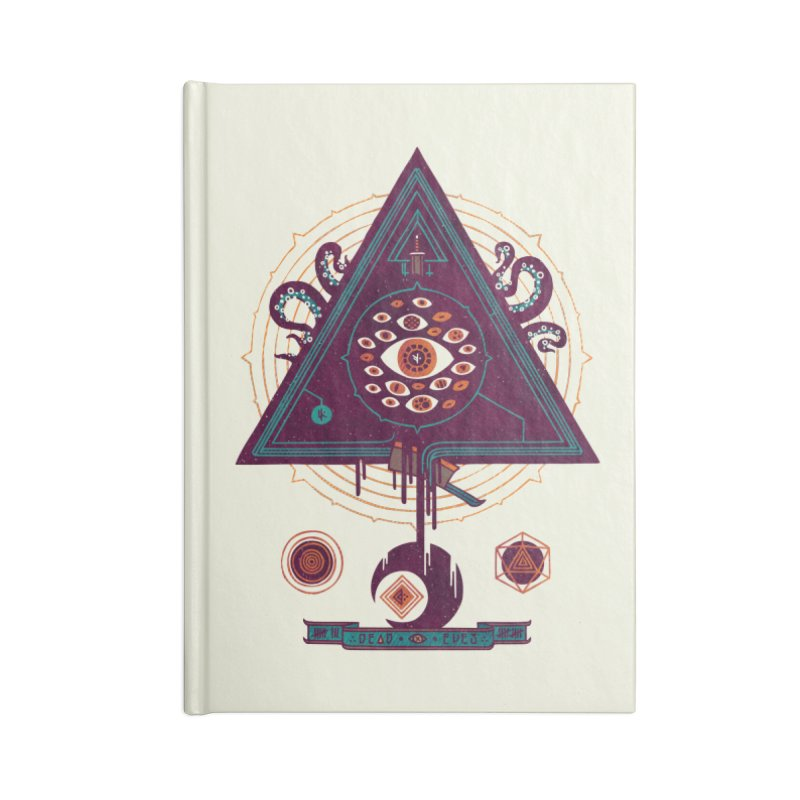 All Seeing Accessories Notebook by againstbound's Artist Shop
