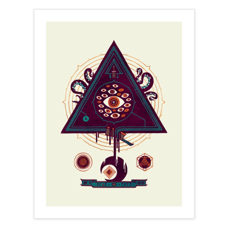 All Seeing Home Fine Art Print by againstbound's Artist Shop