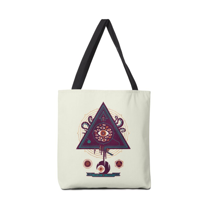 All Seeing Accessories Tote Bag Bag by againstbound's Artist Shop