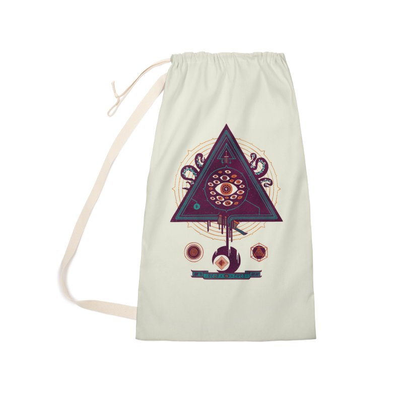 All Seeing Accessories Laundry Bag Bag by againstbound's Artist Shop