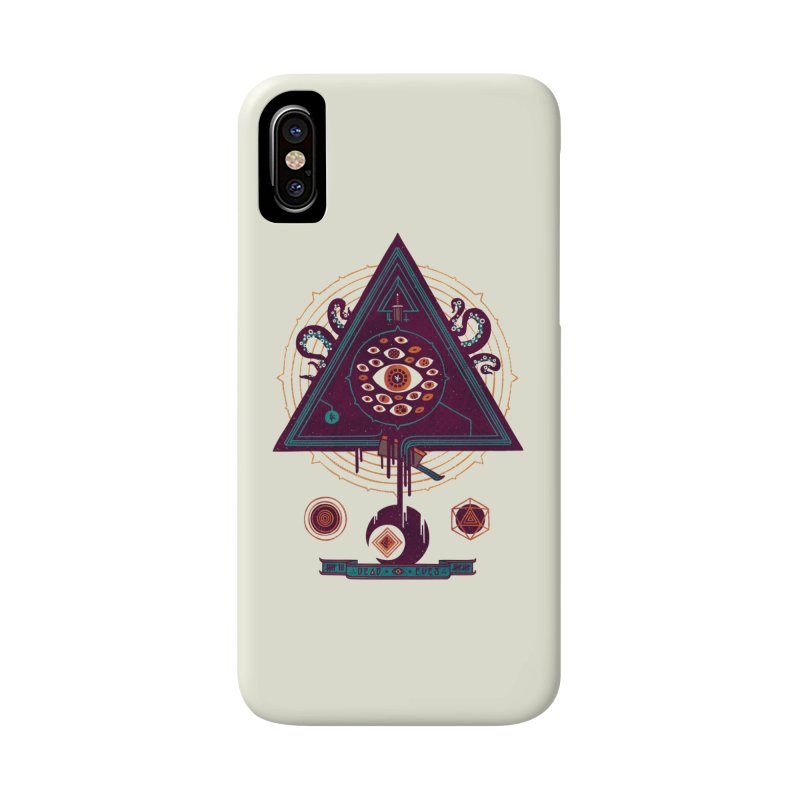 All Seeing Accessories Phone Case by againstbound's Artist Shop