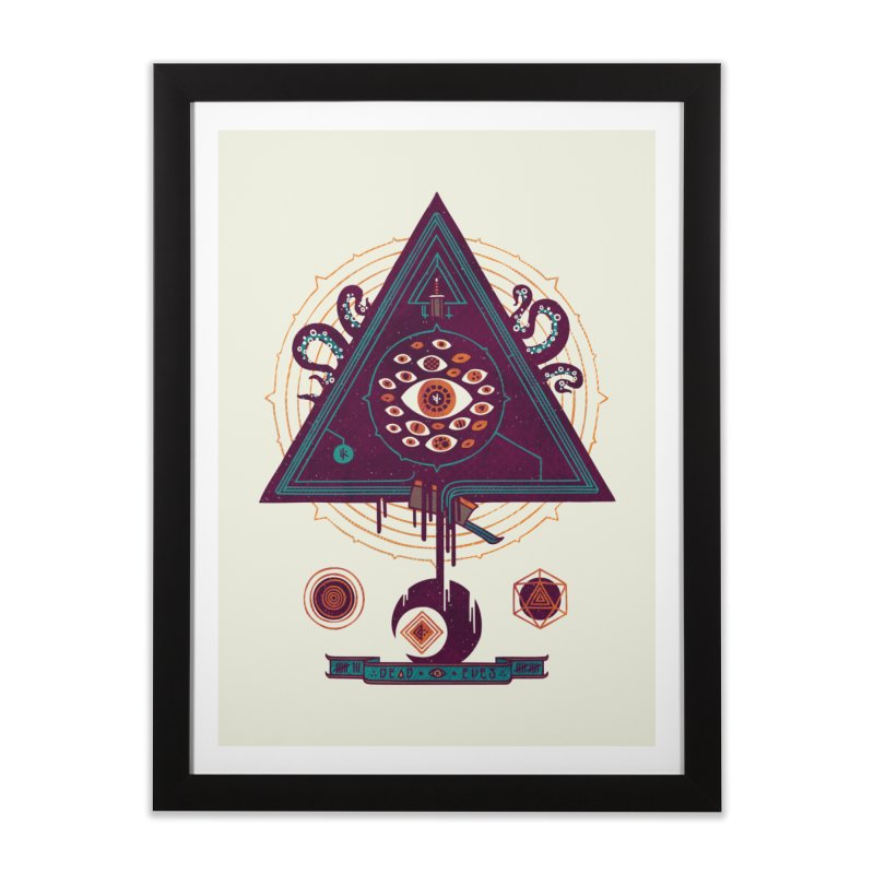 All Seeing Home Framed Fine Art Print by againstbound's Artist Shop