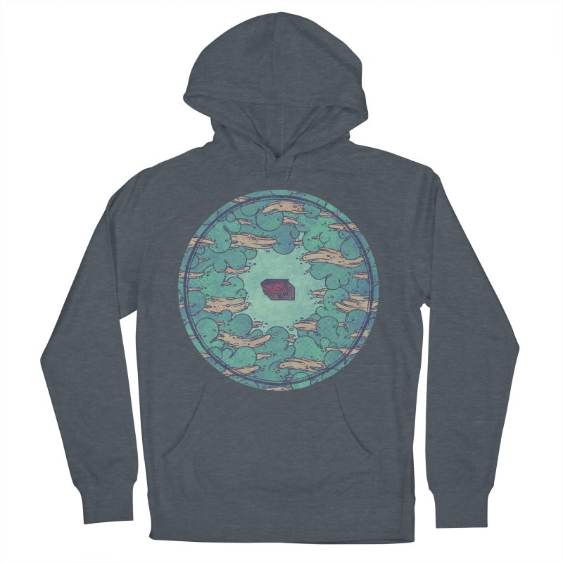 Away From Everything Women's French Terry Pullover Hoody by againstbound's Artist Shop