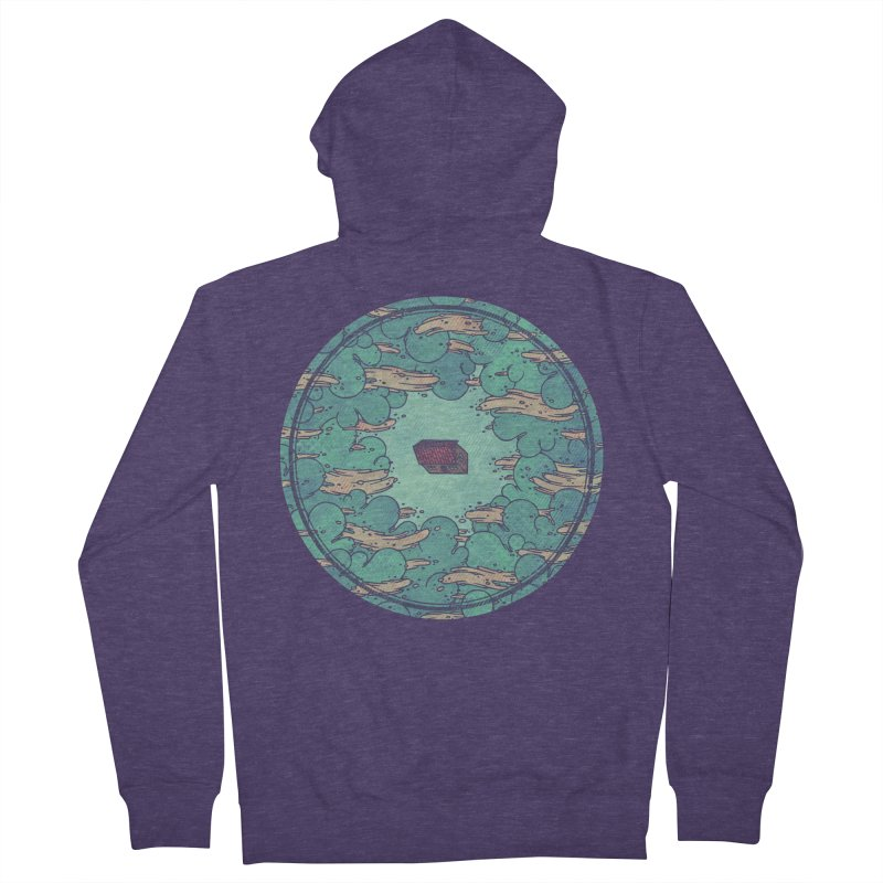 Away From Everything Men's Zip-Up Hoody by againstbound's Artist Shop