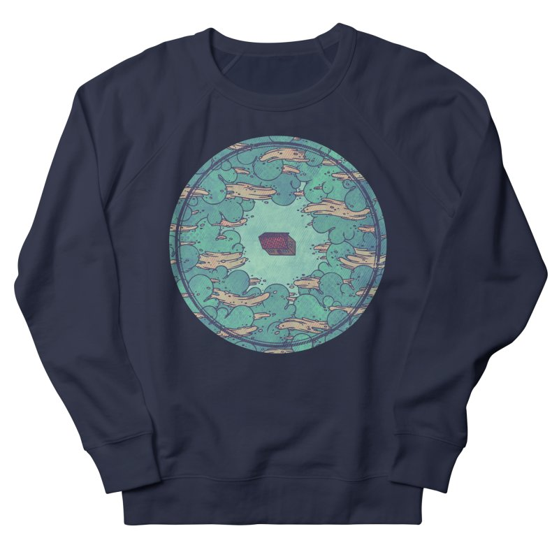 Away From Everything Women's French Terry Sweatshirt by againstbound's Artist Shop