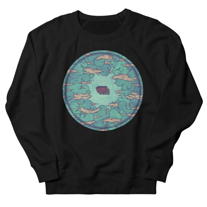 Away From Everything Men's French Terry Sweatshirt by againstbound's Artist Shop